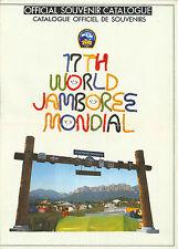1991 World Scout Jamboree OFFICIAL SCOUTS SHOP SOUVENIR CATALOGUE