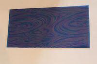 1 Wachsplatte rainbow blau  200*100*0,5 mm