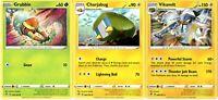 Rebel Clash - Evolution Pokemon Card Set - Vikavolt 066/192 - Holo Rare Lot