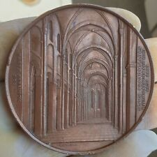 RARE ARCHITECTURE MEDAL BY WIENER - MAINZ CATHEDRAL  1866