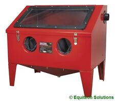 Sealey Tools SB972 Shot Sand Blast Steel Metal Cabinet with Blasting Gun New