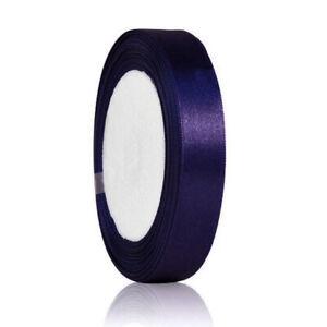 "25 Yards 3/8""10mm Satin Ribbon Craft Bow Wedding Party Decor DIY Wholesale OBRN3"
