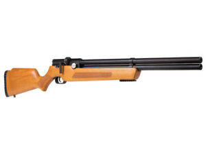 Air Venturi Avenger Regulated PCP Air Rifle Wood Stock w Two magazines and Tray