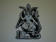 BAPHOMET SATAN EMBROIDERED BACK PATCH