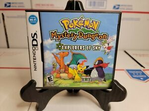 Pokemon Mystery Dungeon  Explorers of Sky complete 💯AUTHENTIC & TESTED😃