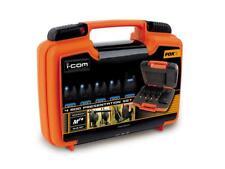 Fox Micron MR+ 4 Rod Set BLUE LED / Carp Fishing Bite Alarms
