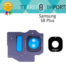 Lente Morado Embellecedor Camara Trasera para Samsung Galaxy S8 Plus G955F