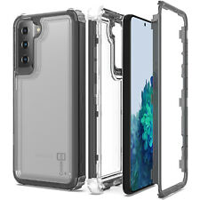 CoverON Phone Cover for Samsung Galaxy S21 5G Case 3-in-1 Military Grade Clear