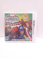 Marvel Super Hero Squad: The Infinity Gauntlet (Nintendo 3DS, 2011) BRAND NEW!!