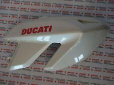 Carena fiancata destra verkleidung fairing right Ducati Hypermotard 1100 bianco