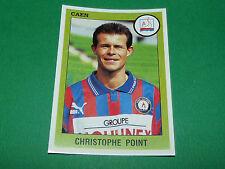 N°44 CHRISTOPHE POINT SM CAEN STADE MALHERBE PANINI FOOT 94 FOOTBALL 1993-1994