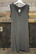 Kristensen du Nord Silk/Cashmere v-neck Printed Dress - Size XS