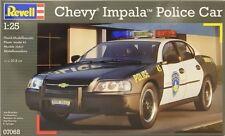 CHEVY IMPALA POLICE CAR  REVELL 1/25 PLASTIC KIT