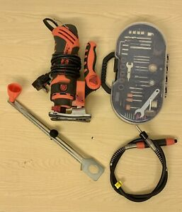 The Renovator Twist-a-saw Router Rotary Tool + Accessories