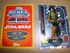 Topps Star Wars Rebel Attax1,1StarWars Glitzer-Karte Nr.172Ezra Bridger,rot/gelb