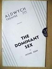 Aldwych Theatre- Diana Churchill,Richard Bird in THE DOMINANT SEX~ Michael Egan