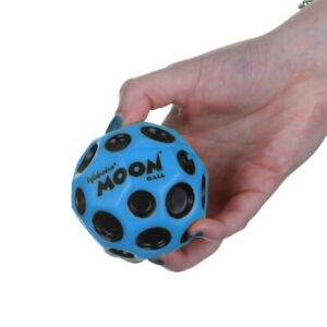 Waboba Moon Ball Extreme Bouncing Crazy Spinning Ball Blue