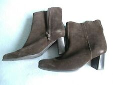 LADIE'S  ( suede ) brown boots