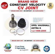 para Opel ASTRA G 1.2 1998-2005 CONSTANTE velocidad Junta homocinética Calidad