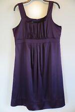 NWT Ripe Limited Maternity Deep Plum Purple Evening Cocktail Dress Size L