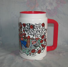 Vtg Disney Plastic Travel Mug Dixie Landings Resort Refillable Mug - Red Lid