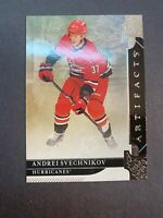 2019-20 Upper Deck Artifacts Base #68 Andrei Svechnikov Carolina Hurricanes