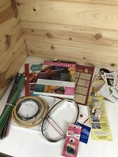 Huge Lot Of Knitting Crafting Supplies Yarn