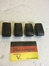 VW GOLF MK2 JETTA 84-92.GENUINE BLACK DASH DASHBOARD DUMMY SWITCH BLANKS 4 PACK