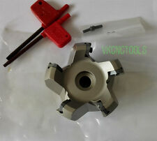 Left-hand D63mm 45Deg Face Mill Cutter for SEMT13T3AGSN/SEGT13T3 Insert