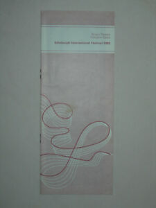 Cosi Fan Tutte Pritchard Varady Murray Opera Edinburgh Festival Programme 1980