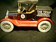 Texaco 1918 Ford Model T Runabout ERTL Limited Edition Coin Bank