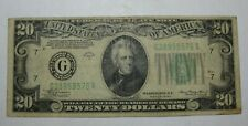 1934 -A $20 FEDERAL RESERVE NOTE, BANK OF CHICAGO, FREE SHIPPING!!!!!