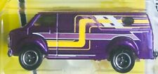 Matchbox Ready For Action Chevy Van  Purple