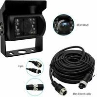 4Pin Caméra de Recul Caméra Voiture Transport robuste Camion de Nuit IR 12V-24V