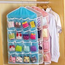 Hanging Shoe Organizer 16 Pockets Over the Door Storage Bag Holder Rack Closet