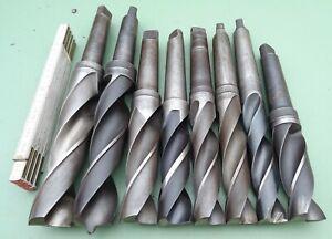 HSS Spiralbohrer MK4 32 34 35 37 38 40 44 45 180° Maschinen Bohrer Metallbohrer