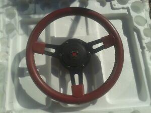 "Mountney steering wheel 13"" inc boss Triumph Spit GT6 TR Herald Vitesse MG Lotus"
