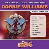 ROBBIE WILLIAMS VOL 1 CD+G SUNFLY KARAOKE - 15 SONGS