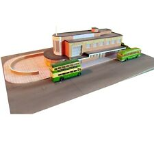 Kingsway, 00 scale, Southdown Haywards Heath bus station,  ** ready made **.