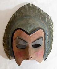Antique Vintage SAL TERRACINA Carnival World of Mirth PAPER MACHE MASK Art