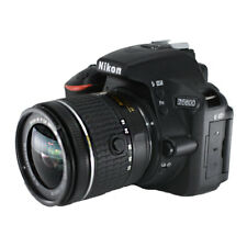 Nikon D5600 Digital SLR Camera w/ Nikkor 18-55mm VR AF-P Zoom Lens Kit
