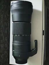 Sigma 150-600 mm f5-6.3 DG C Lens for Nikon