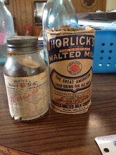 Racine Wisconsin Horlicks Malted Milk Full Paper Label Box Rare