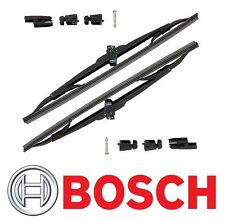 "Fits Chevy GMC Set of 2 Front Windshield Wiper Blade 15"" Bosch Micro Edge 40 715"