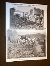 Terremoto in Calabria 23 ottobre 1907 Tra le macerie di Ferruzzano Soldati