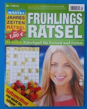 Bastei Frühlings - Rätsel Nr.1/2018   NEU+unbenutzt 1A abs. TOP