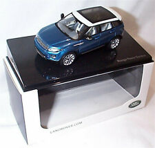 Range Rover Evoque 5 Door Mauritus Blue Dealer model 1-43 New Ixo Branded