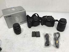 Lot of 2 Canon Eos 10D 6.3Mp Digital Slr Camera w/ Accessories