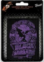 Official Merch Woven Sew-on PATCH Metal Rock BLACK SABBATH Lord of This World