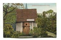 Olney - William Cowper's Summer House - old Buckinghamshire postcard